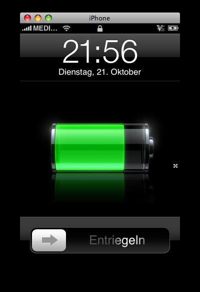 iPhone via VNC